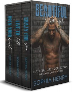 BEAUTIFUL STRANGER: The Material Girls Collection: A Steamy Contemporary Romance Box Set