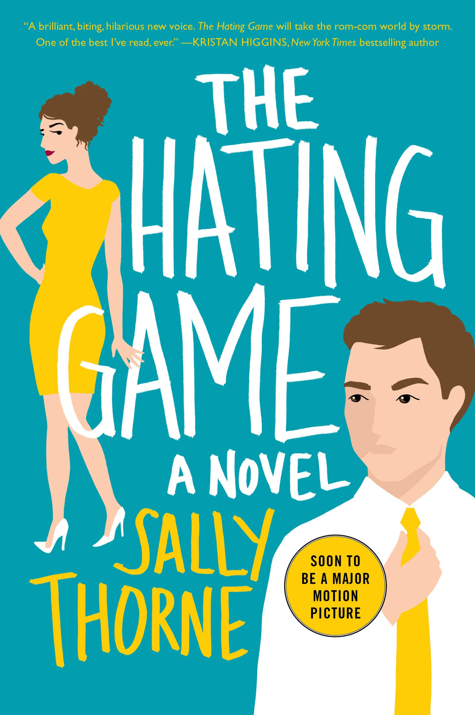 "Best Rom-Com — ""The Hating Game"" by Sally Thorne"